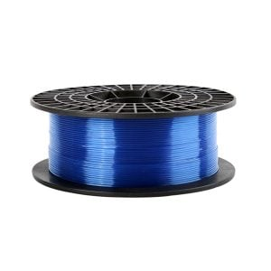 filament albastru transparent imprimante 3d
