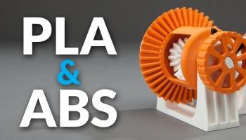 Care este diferenta intre filamentele ABS si cele PLA ?